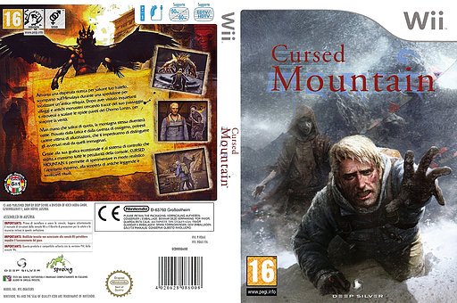 Cursed Mountain Wii cover (RQ6PKM)