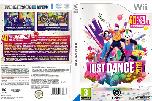 Just Dance 2019 Wii cover (S5EP41)