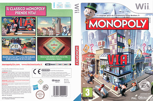 Monopoly Wii cover (S75P69)