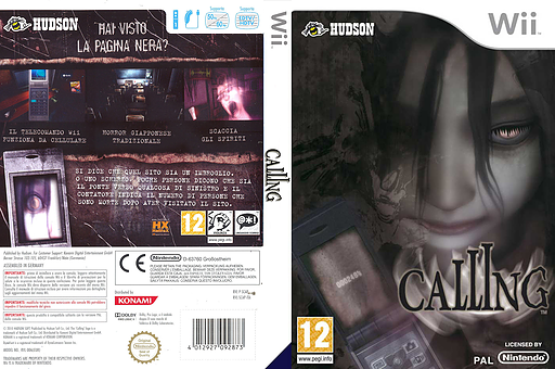 Calling Wii cover (SCAP18)