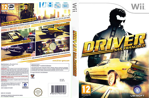 Driver: San Francisco Wii cover (SDVP41)