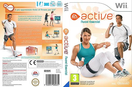 EA Sports Active: Nuovi Esercizi Wii cover (SEAP69)