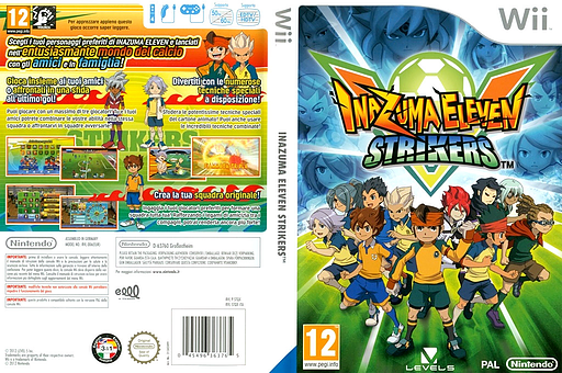 Inazuma Eleven Strikers Wii cover (STQX01)