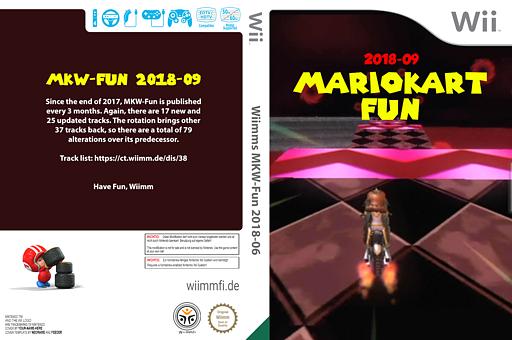 Wiimms MKW-Fun 2018-09.jap CUSTOM cover (RMCJ38)