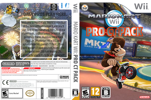 Pro CT Pack CUSTOM cover (RMCJ76)