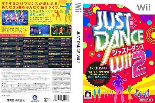 Just Dance Wii 2 Wii cover (SJDJ01)