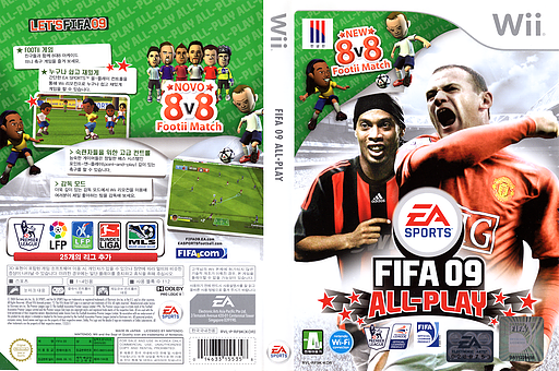 FIFA 09 All-Play Wii cover (RF9K69)