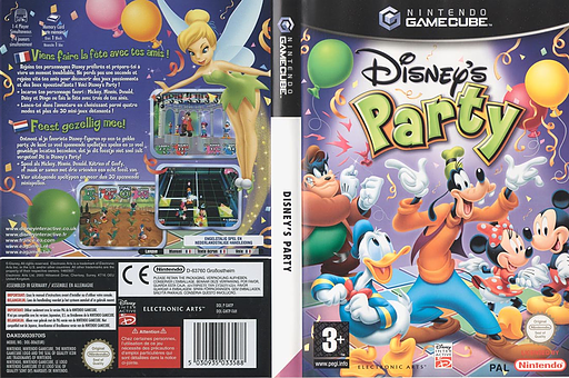 Disney's Party GameCube cover (GMTP69)