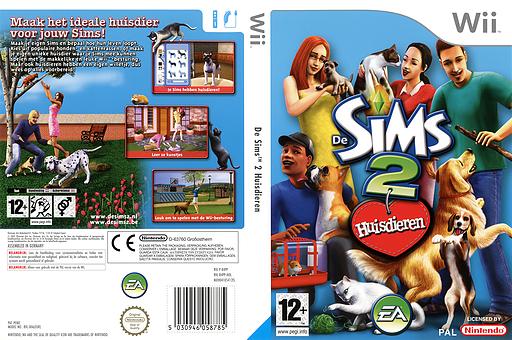 De Sims 2: Huisdieren Wii cover (R4PP69)