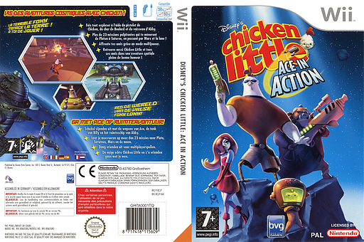 Chicken Little: De Avonturen van Ace Wii cover (RCLP4Q)
