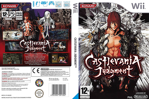 Castlevania Judgment Wii cover (RDGPA4)