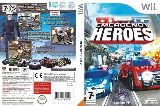 Emergency Heroes Wii cover (REHP41)