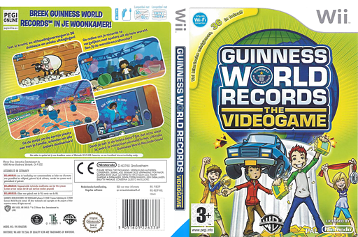 Guinness World Records: The Videogame Wii cover (RG5PWR)