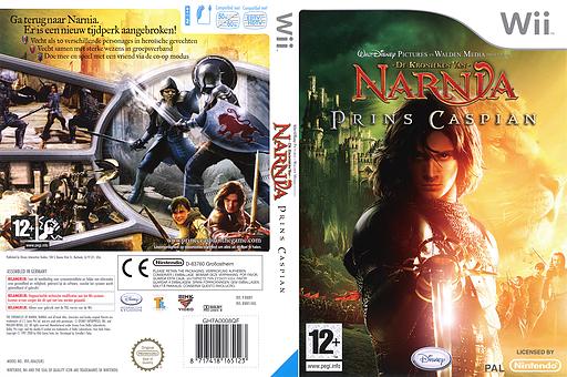 De Kronieken van Narnia: Prins Caspian Wii cover (RNNY4Q)