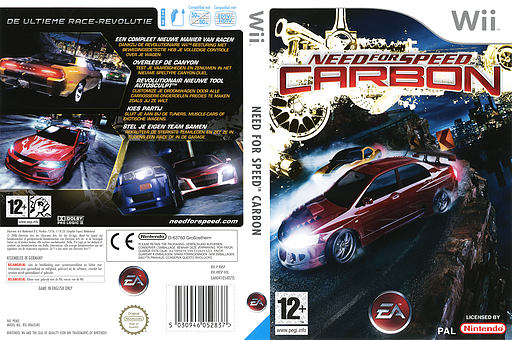 Need for Speed: Carbon Wii cover (RNSP69)