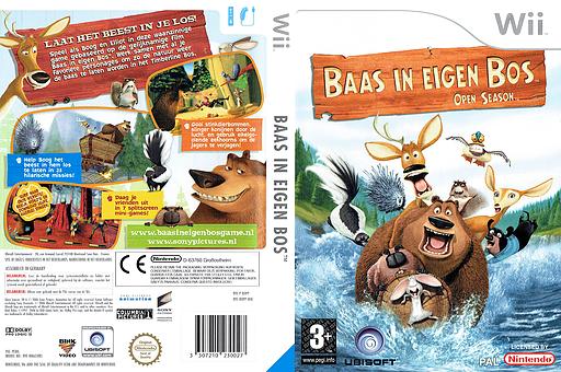 Baas in eigen bos Wii cover (ROPP41)