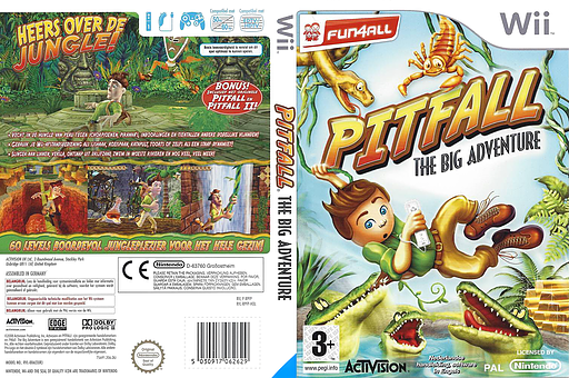 Pitfall: The Big Adventure Wii cover (RPFP52)