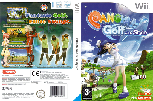 Pangya! Golf With Style Wii cover (RPYP9B)
