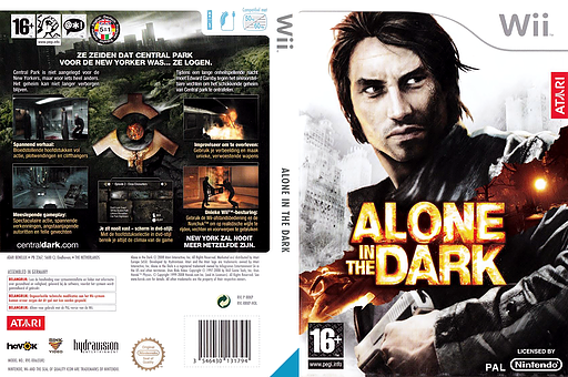 Alone in the Dark Wii cover (RRKP70)