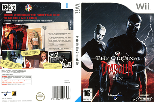 Diabolik: The Original Sin Wii cover (RVDPLG)