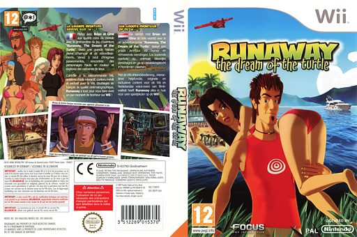 Runaway: The Dream of the Turtle Wii cover (RWYPHH)