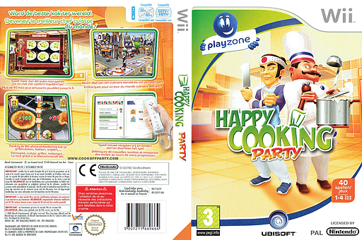 Happy Cooking Party Wii cover (RZLP41)