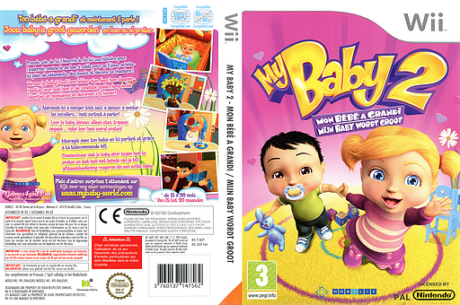 My Baby 2: Mijn Baby Wordt Groot Wii cover (SB2PNP)