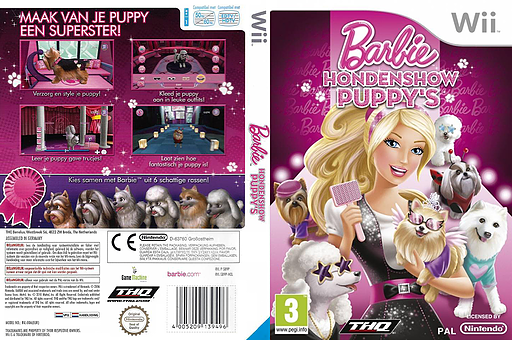 Barbie: Hondenshow Puppy's Wii cover (SB9P78)