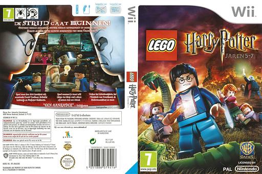 LEGO Harry Potter: Jaren 5-7 Wii cover (SLHPWR)