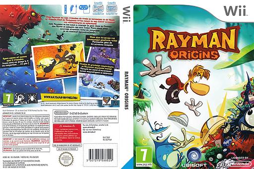 Rayman Origins Wii cover (SOJP41)
