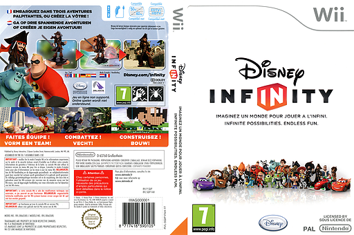 Disney Infinity Wii cover (SQIP4Q)