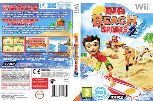 Big Beach Sports 2 Wii cover (SV2P78)