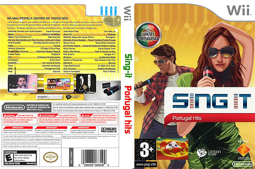SingIt Star Portugal Hits CUSTOM cover (PT1PSI)