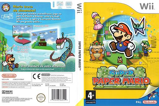 Super Paper Mario Wii cover (R8PP01)
