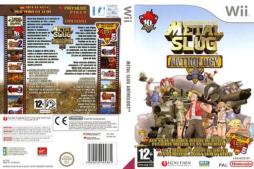 Metal Slug Anthology Wii cover (RMLP7U)