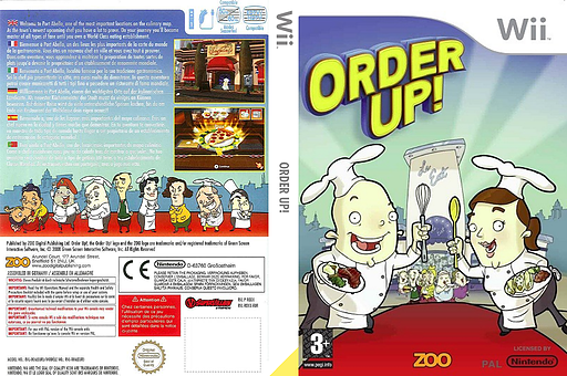 Order Up! Wii cover (ROXX7J)