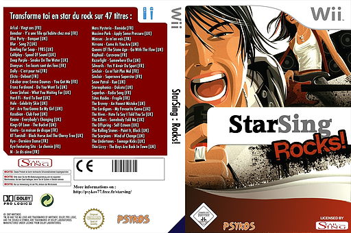 StarSing : Rocks! v1.1 CUSTOM cover (SISREU)