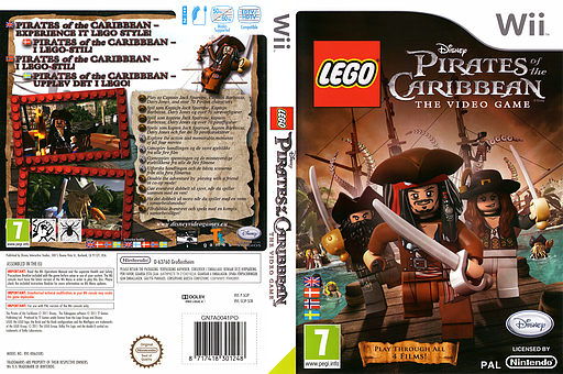 LEGO Pirates of the Caribbean: The Video Game Wii cover (SCJP4Q)