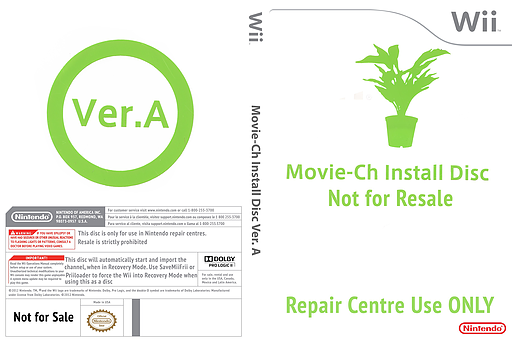 Movie-Ch Install Disc Ver. A Wii cover (091E00)