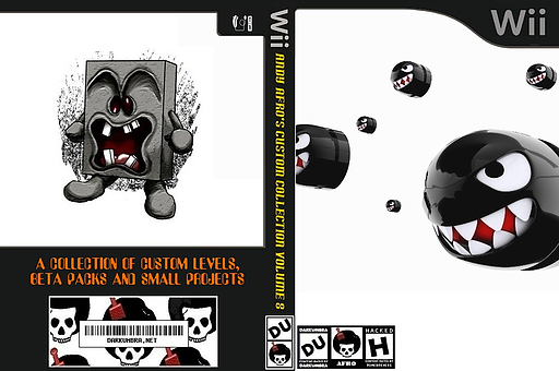 New Super Mario Bros. Wii ANDY AFRO'S Custom Collection Volume 8. CUSTOM cover (AFRE01)