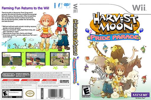 Harvest Moon: Pride Parade CUSTOM cover (CBIEE9)