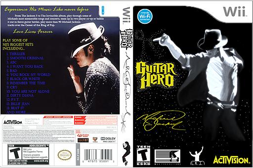 Guitar Hero III Custom:Michael Jackson CUSTOM cover (CFEE52)