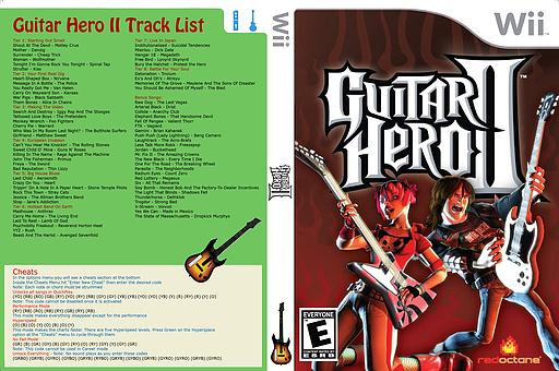 Guitar Hero III Custom:Guitar Hero II CUSTOM cover (CGHE88)