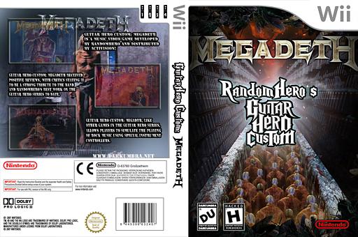 Guitar Hero III Custom:Megadeth CUSTOM cover (CMDE52)