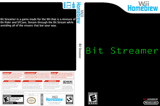 Bit Streamer Homebrew cover (D06A)
