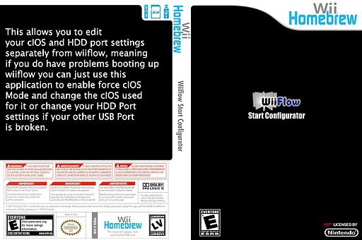 WiiFlow Start Configurator Homebrew cover (D2EA)