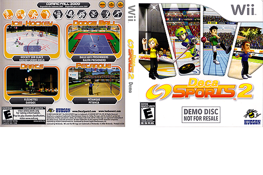 Deca Sports 2 (Demo) Wii cover (D2SE18)