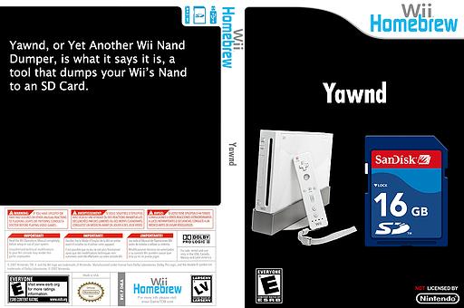 Yawnd Homebrew cover (D4LA)