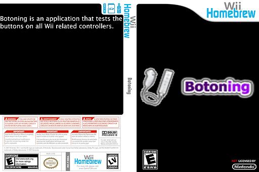 Botoning Homebrew cover (D5RA)