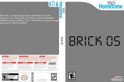 Brick OS Homebrew cover (D8QA)